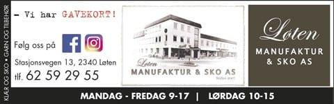 Løten Manufaktur Sko