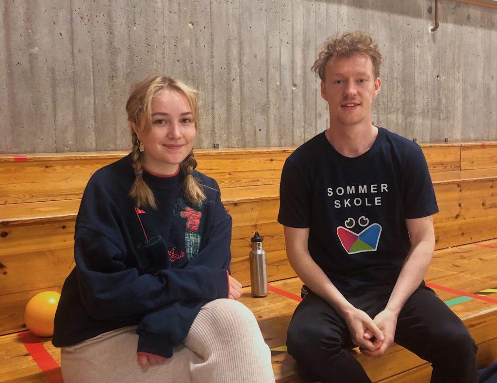 Louise Standal Geers og Håkon Hemmer